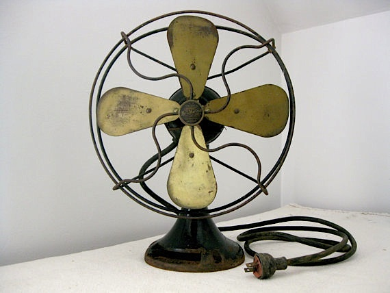 vintage 1920 Northwind fan