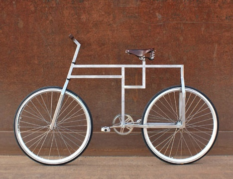 Bauhausian Bicycle