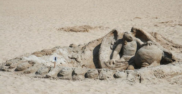 coney island angel sandcastle by pablo57 flickr