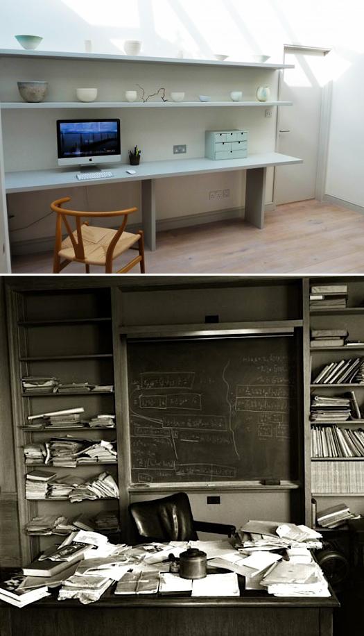 desk splice remodelista + einstein