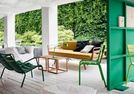 green wood room divider 2