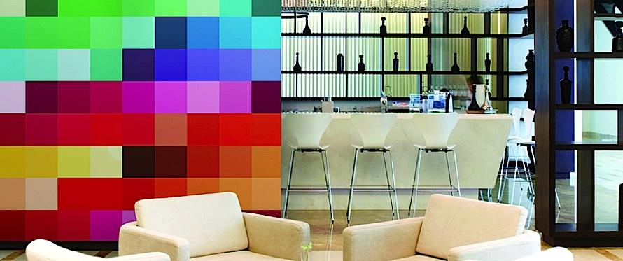HP digitally printed wallcovering