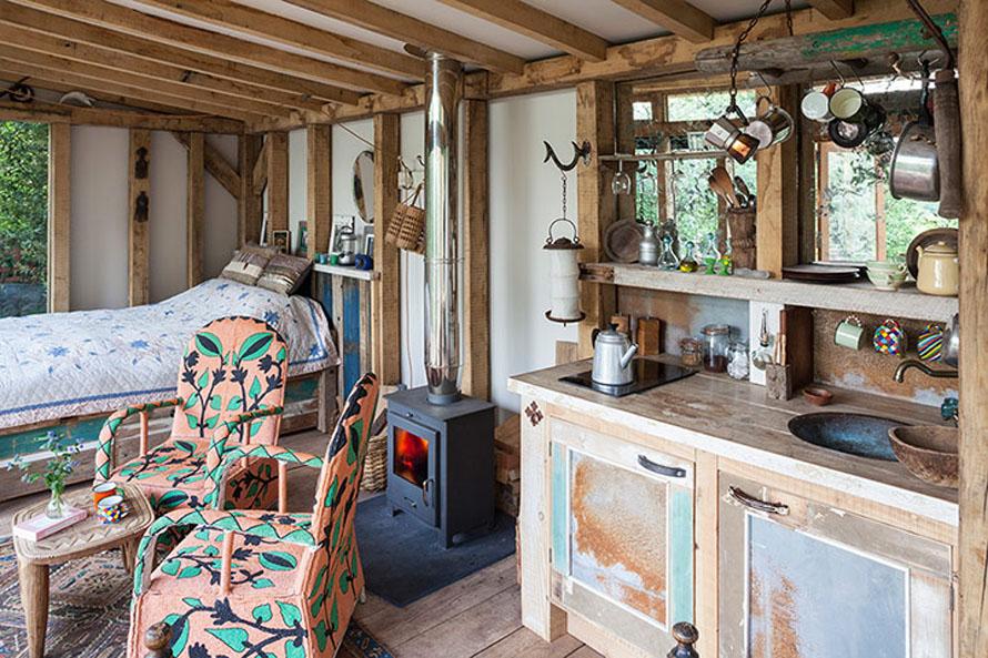 home in Bristol (UK) with vintage designer elements