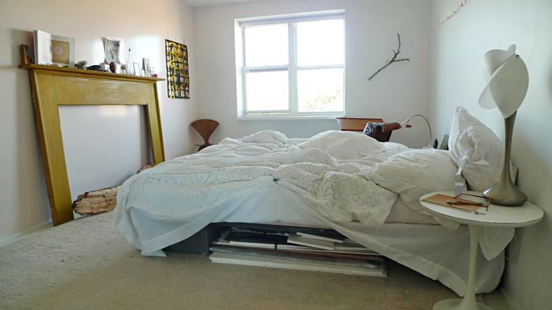 diy linen bed skirt dust ruffle 2