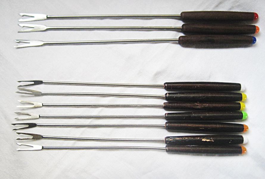 fondue fork cooks tool NOT