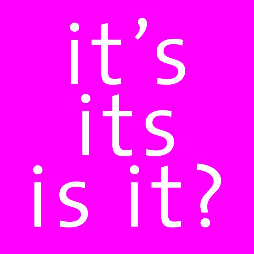 it's its is it? pink