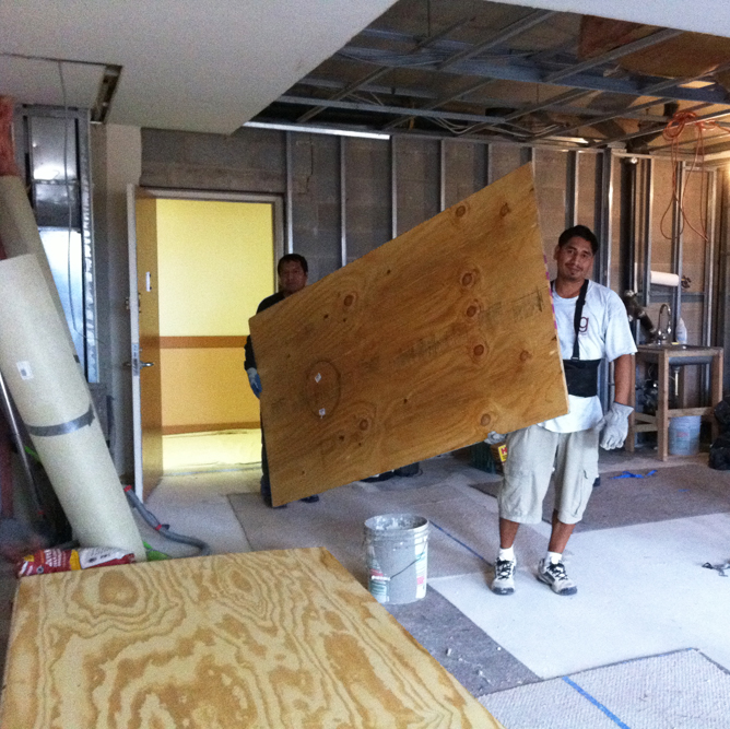 plywood floors materials