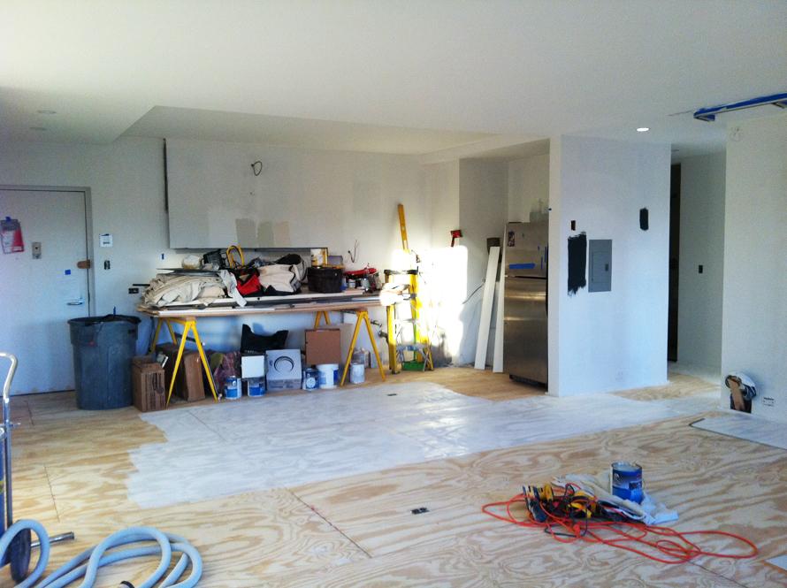 plywood floors primer