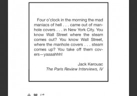 Kerouac 4 am paris Review interview