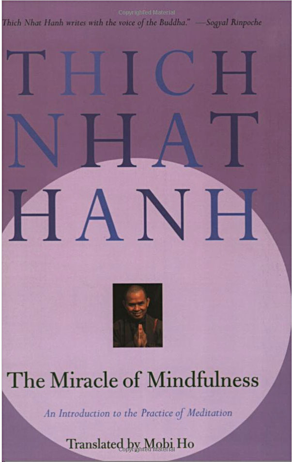 Thich Nhat Hanh cover Miracle of Mindfulness