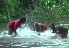 african water music: river as percussion instrument