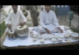 (bowls of) water music from India