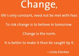 change linda ellerbee orange