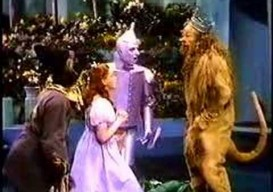 george lois and the cowardly lion on 'courage'