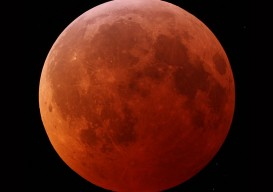 the lunar eclipse (time-lapse)…