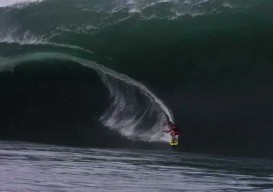 mental health break: riding teahupo'o waves in slo-mo