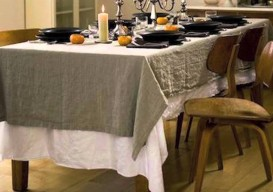 rough linen's clever ideas for tabletop + home decor