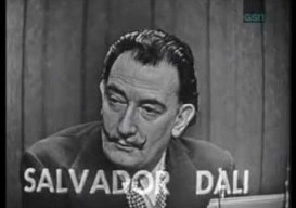 salvador dali says 'yes' to everything
