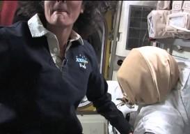 zero gravity with sunita williams