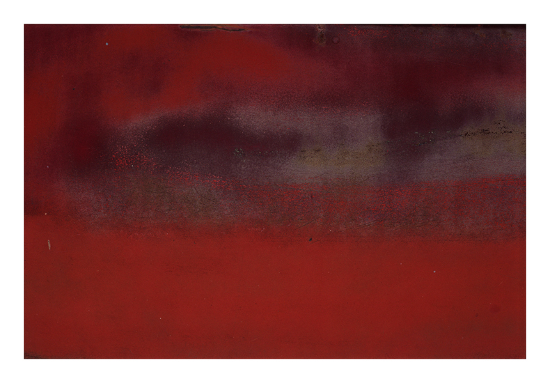 Fern Berman 'Composition in Red, no. 13'