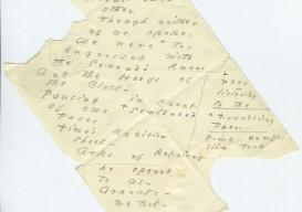 Emily Dickinson Envelope poem 2