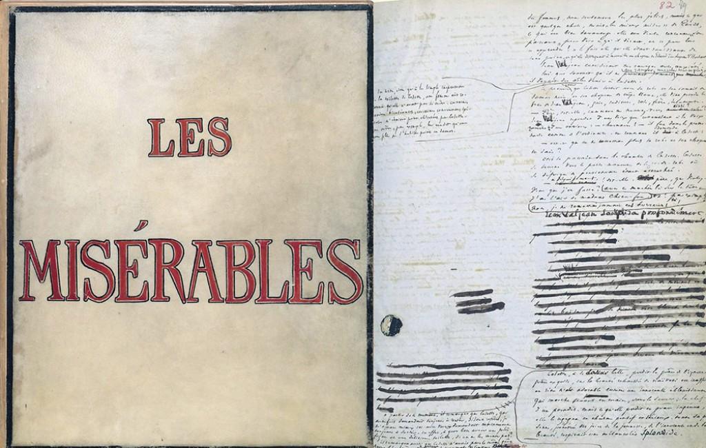 Victor Hugo's Handwritten manuscript