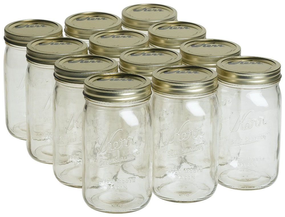 classic American canning jar
