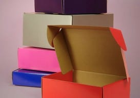 corrugated boxes colors