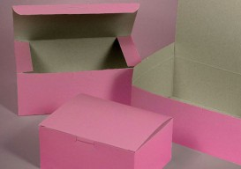 pastry boxes pink