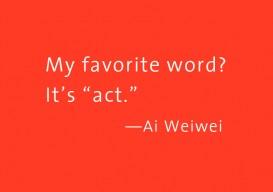 Ai Weiwei Act