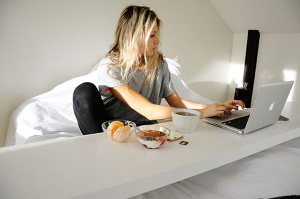 Bed Desk Solutions For Working In, In Bed Desk
