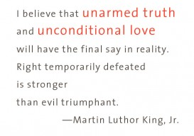 ML King Unarmed truth