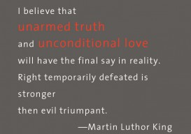 MLKing unarmed truth