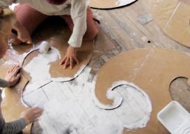 chairloom stencil floor 03 via remodilista