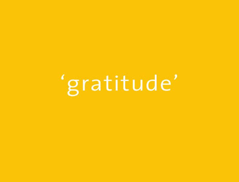 gratitude yellow 790