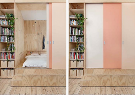 plywood cube via design to inspire