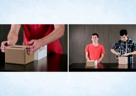 Rethinking the Cardboard Box: Rapid Packing Container