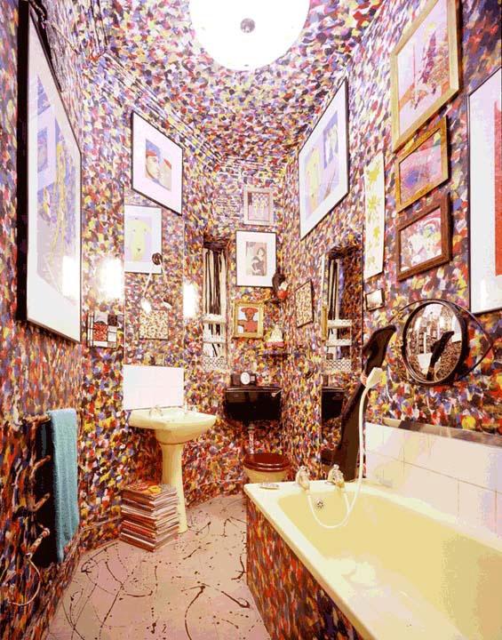 Duggie Fields bathroom