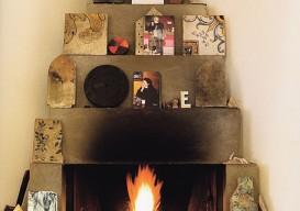 Fireplace Enzo Mari Home via aqq