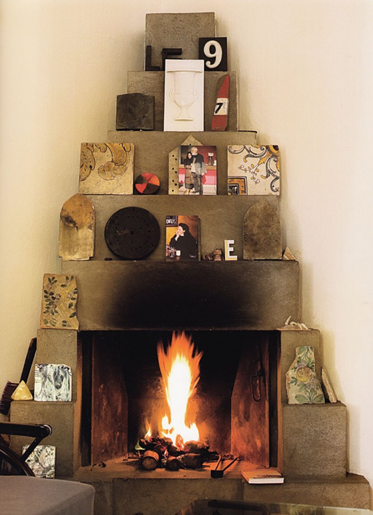 Fireplace Enzo Mari Home via aqq