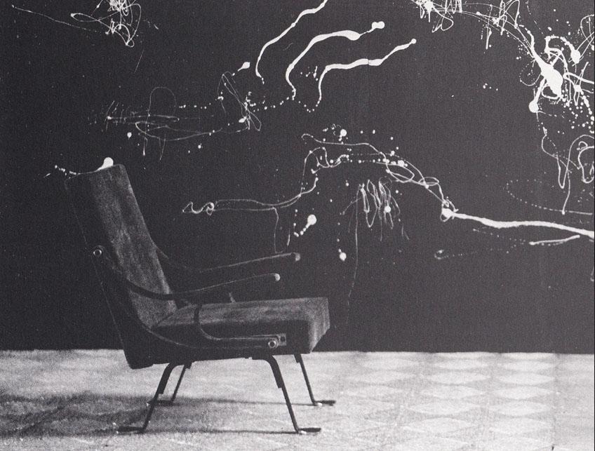 splatter Splash Ignazio Gardella, Digamma, for Gavina, 1956