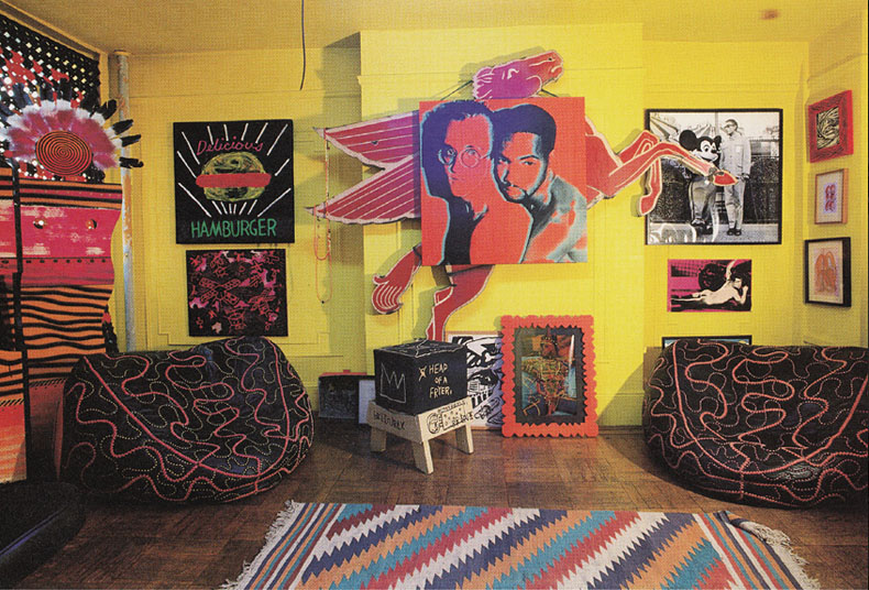 Keith Haring Apartment Broome St zonkout