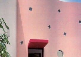 dirty pink Arquitectonica, Banco de Credito, 1988