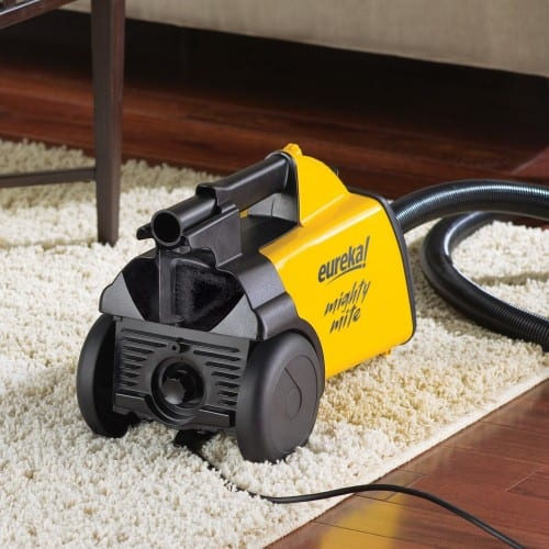 Eureka Un-Dyson Yellow Vacuum Mighty Mite