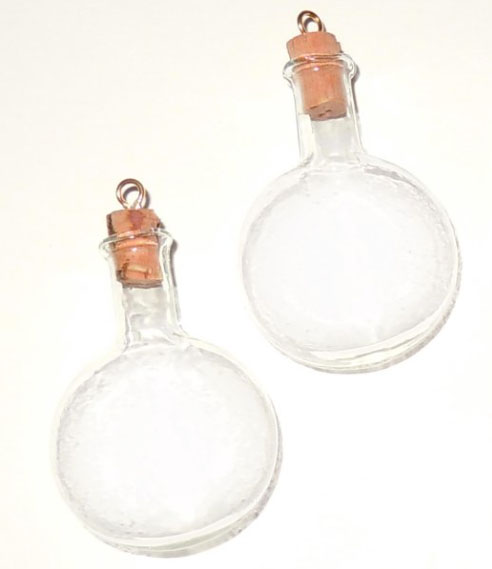glass bottle charm terrarium
