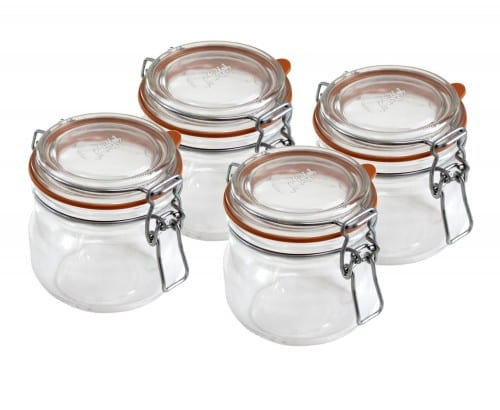 Le Parfait french canning jars airtight