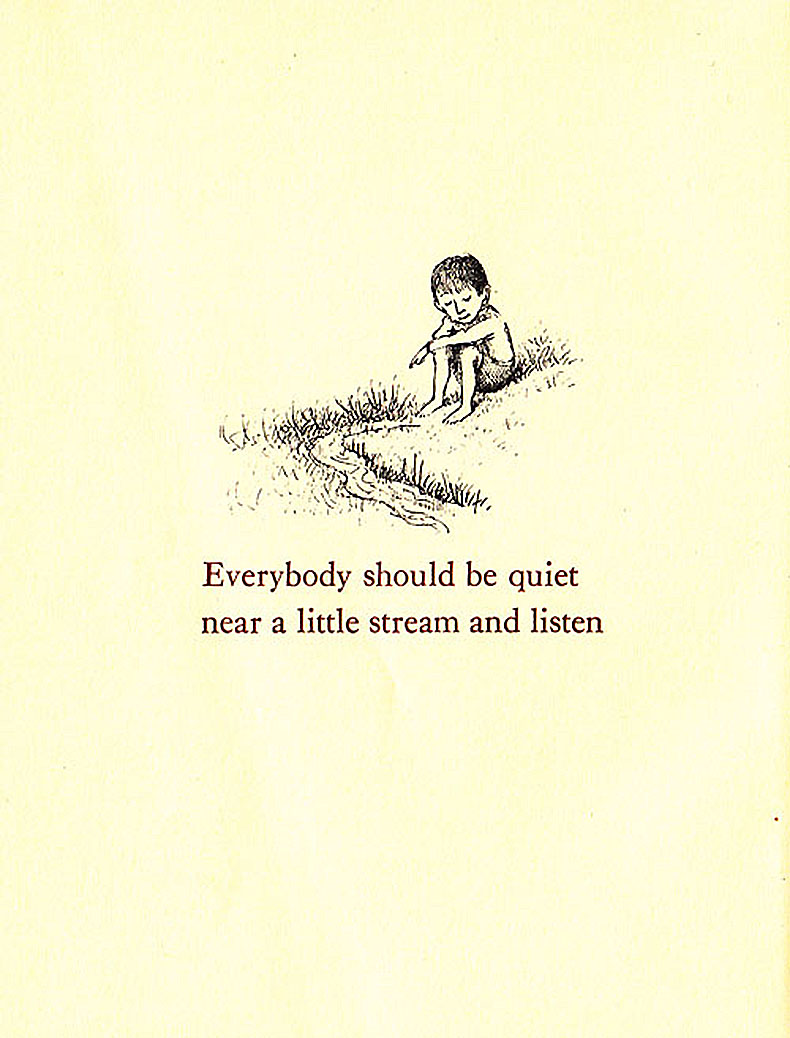 Ruth Krauss as illustrated by Maurice Sendak