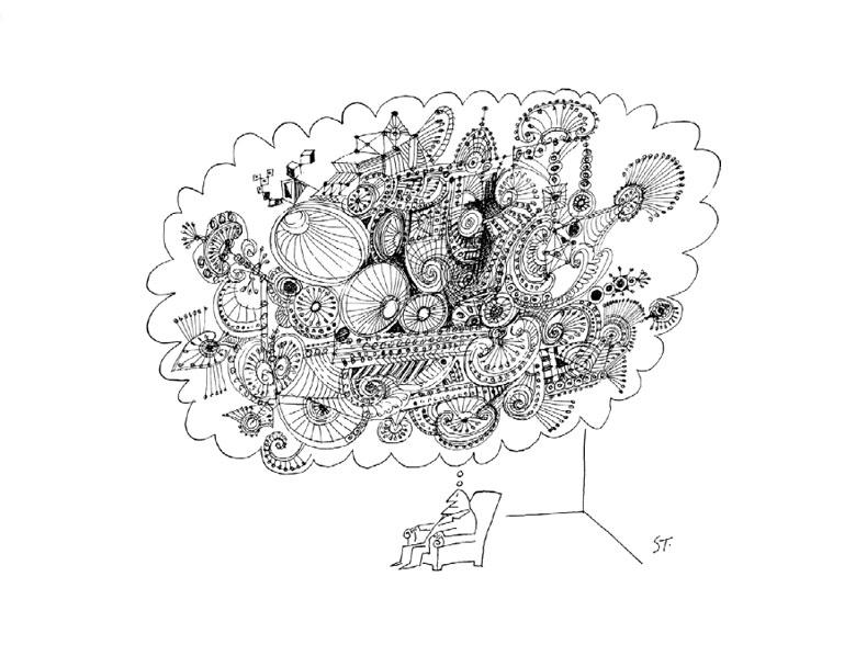 Saul Steinberg/The New Yorker