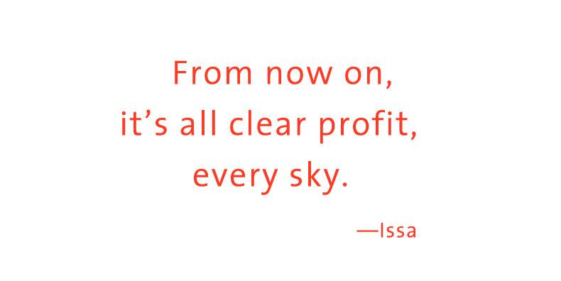 haiku Issa profit