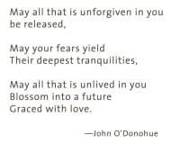 Blessing John O'Donohue